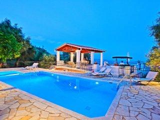 Villa Alexandros family villa with pool terrace sleeping 10 people
