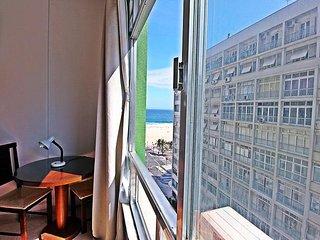 Apartment with lateral sea view in Copacabana C023, Rio de Janeiro