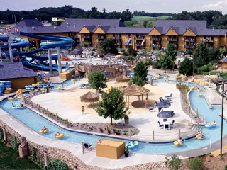 Sanctuary Lodge at Splash Canyon   1 BR sleep 4    Wisconsin Dells