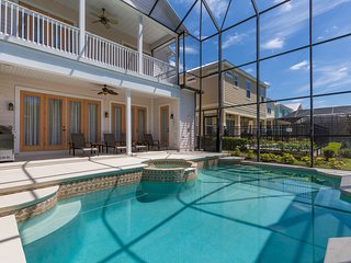 Patriots Enclave - 5br, Screened Private Pool/Spa, FREE Waterpark Access