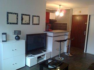 Pau C.ville 2 pieces meuble, res standing, Pkg, CALME, Internet par Fibre