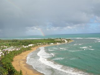 Luxurious Waterfront/Beachfront Penthouse Condominium Suite w/30' Balcony, Luquillo