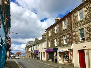 Cosy first floor flat in the heart of beautiful Rothesay.