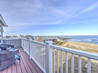 NEW! 3BR Beach House in Brant Rock w/Ocean Views!, Duxbury