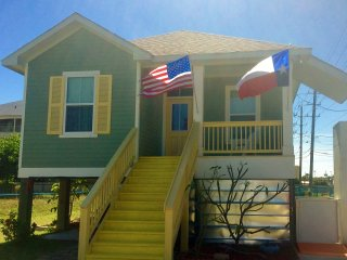 NEW! 3BR Galveston Home w/Elevator - Walk to Beach!