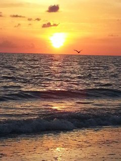 Sunset on the Gulf of Mexico