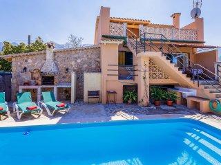 Cas Padri, villa con piscina y wifi