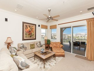 Cinnamon Beach End Unit - 341 ! Over 2100 sf with Ocean and Golf Views !!