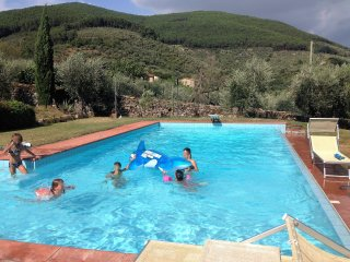 Casa di Meo with pool on the tuscan hills, Buti