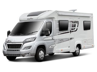 Life's an Adventure Motorhome & Campervan Hire UK - Majestic 2-4 berth