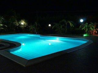 Villa bifamiliare con piscina munita di idromassaggio e doccia solare,barbecue.., Roccella Ionica