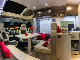 Life's an Adventure Motorhome & Campervan Hire UK - Benimar 2-4 berth