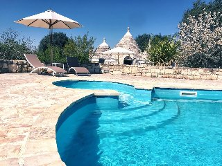 Trullo Giancamisa : Stylish & Private with Pool, Ceglie Messapica