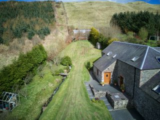 The Threshing Mill Near Selkirk (Lowland Lettings co uk)