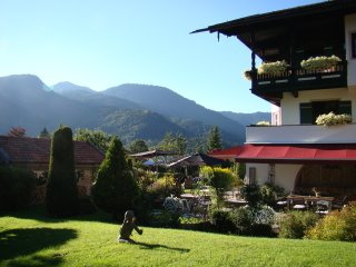 Sonnige 2-Zimmer Wohnung mit Aussicht im Tegernseer Tal, Kreuth