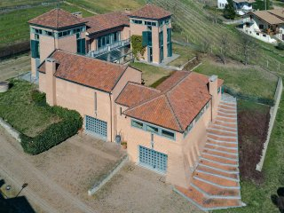 VILLA VALENTINA NEL MONFERRATO UNESCO, Agliano Terme