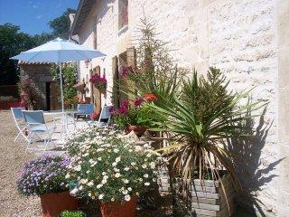 L'Hirondelle a spacious 4 bedroom gite in Nouvelle-Aquitaine/Poitou-Charentes, Sauze-Vaussais