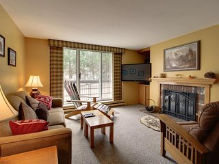 Ski-in/ski-out condo w/ a shared pool, modern comforts, and more!
