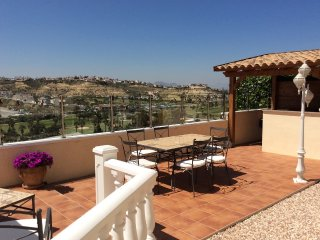 Sunny Detached Villa With Pool and Lovely Mountain Views