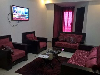 Fully furnished 3 bedroom apartment in safari villas 1 phase 1 Bahria Town.