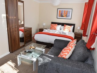 Large Bedroom with sofa bed