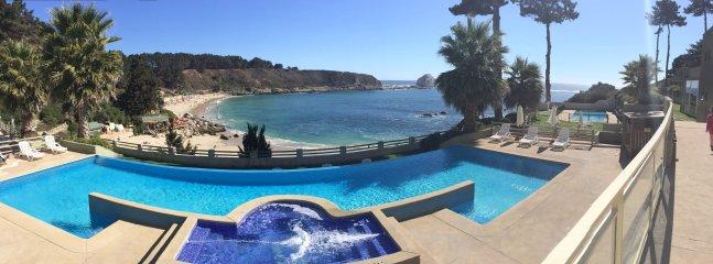 Vista al mar - Algarrobo - Playa Canelillo - Chile - 3D/2B