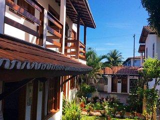 Apartamentos graciosos, confortaveis, limpos localizado a 600 metros da praia.