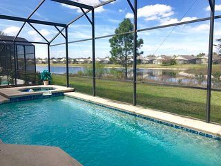 Close to Disney 6 Bedrooms Pool/Spa/lake view, Clermont