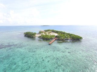 PRIVATE ISLAND RENTAL WITH OVER WATER BUNGALOW, Sittee Point