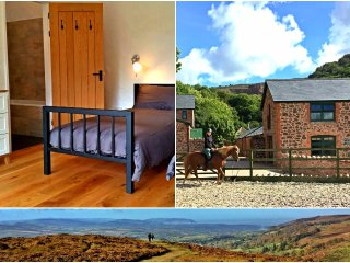 Modern Victorian barns with stunning views - walking, cycling, riding on hills, Bishops Lydeard