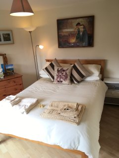 Lovely, light double bedroom