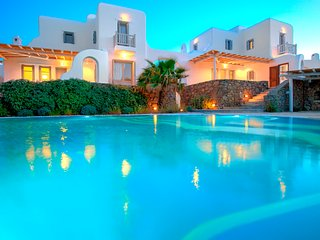 5 Bedroomed Villa/ Shared Pool with Jacuzzi In Mykonos,Greece-281, Mykonos Town