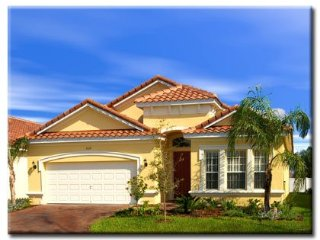 Large 5 bed villa in gated community close to Disney