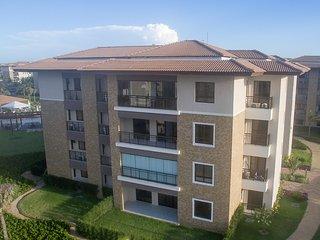 Apartamento com vista para o Mar e varanda climatizada