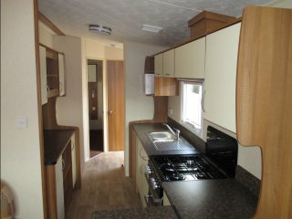 Modern 3 Bed 8 berth Holiday Caravan, Towyn