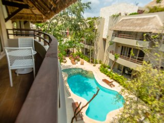 TROPICAL 2 BDR PENTHOUSE in newest area of Tulum, ALDEA ZAMA!