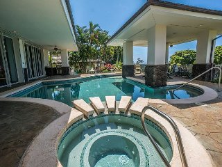 Oceanview Luxury Kiahuna home with a Private pool and Golf Course Access