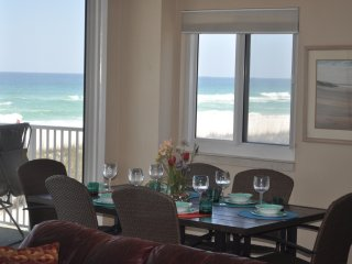 End unit with 2 balconies directly on Gulf of Mexico! 3Bd/ 2 1/2 B. GREAT VIEWS!, Pensacola Beach