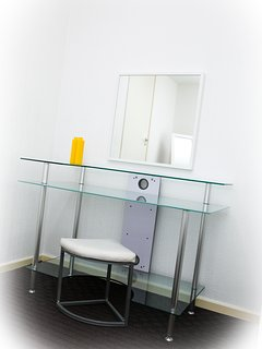 desk/ dressing table and mirror