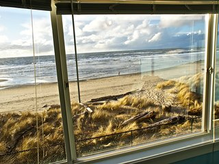 The view from the oceanfront window