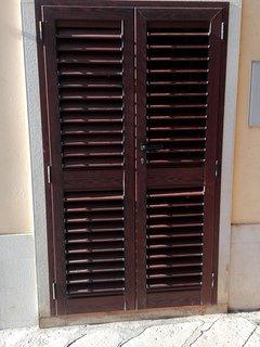 Porta d'ingresso lato esterno