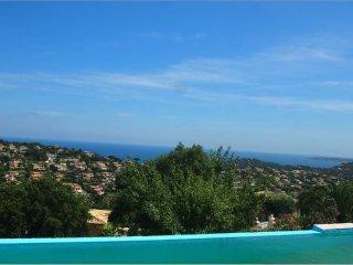Villa 8 personnes avec vue mer exceptionnelle - Piscine a debordement - Wifi