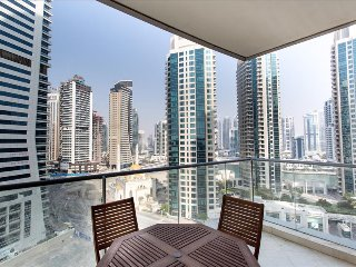 Premium 2BR 3 Min to The Beach Full Marina View, Dubai