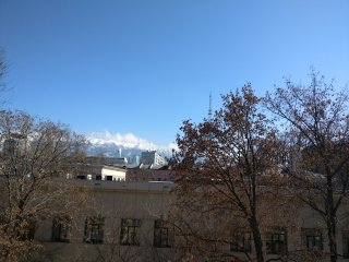 Very center apartment with view on stunning mountains closed to everything., Almaty