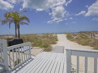 Beachfront Gem by BeachhouseFL!  Stay any week in June and take $300 off, Redington Shores