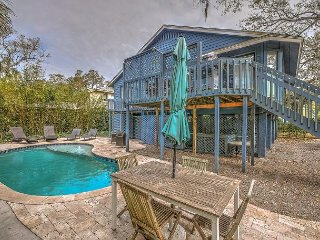 New Rental! 4th Row Ocean, 4 Bd, Dog Friendly, Heated Private Pool! Nighthawk