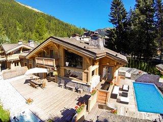 Chalet Terre 5*luxe à Chamonix: Piscine et Spa, Argentiere