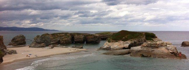 Playas espectaculares y tranquilas