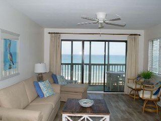 2BR, 2BA Oceanfront Condo with Wonderful Amenities!