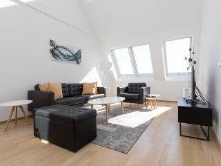 New Modern Penthouse Duplex Suite very close to Opera and Karlskirsche #1/8